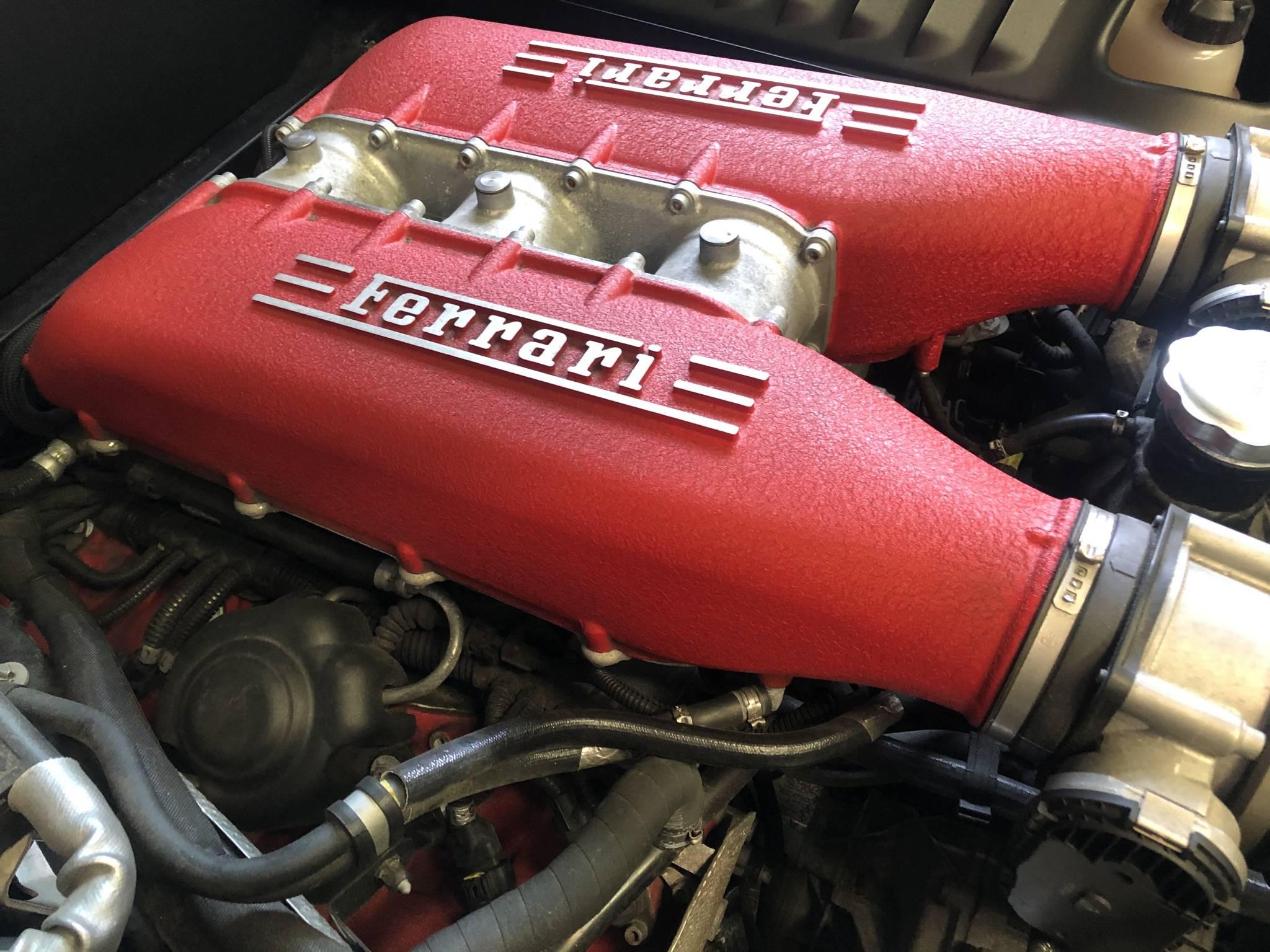 Ferrari オイル交換